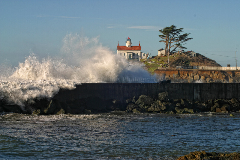 Battery Point Lighthouse. Crescent City, California 1032