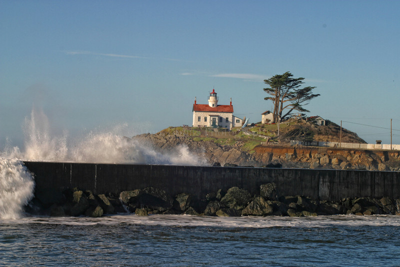Battery Point Lighthouse. Crescent City, California 1028