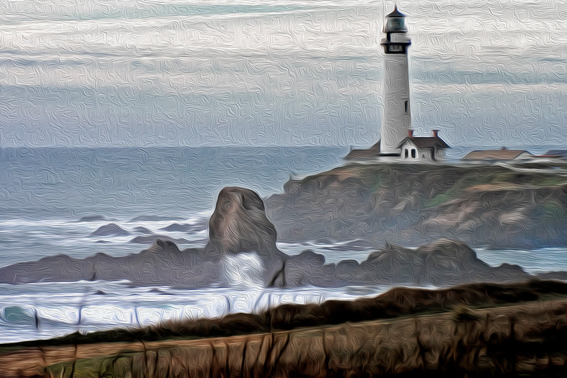 Pigeon Point Lighthouse (Altered)