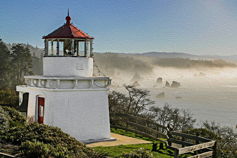 Trinidad Head Lighthouse (Altered)