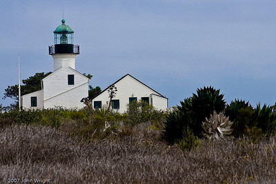 Old Point Loma Lighthouse on a different day