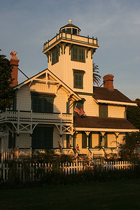 Point Fermin Lighthouse, San Pedro, CA.  I trained in this lighthouse prior to deploying to Vietnam in 1967.