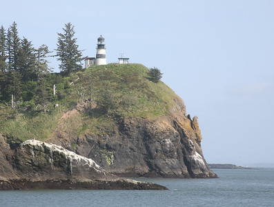 Cape Disappointment Lighthouse from Benson Beach