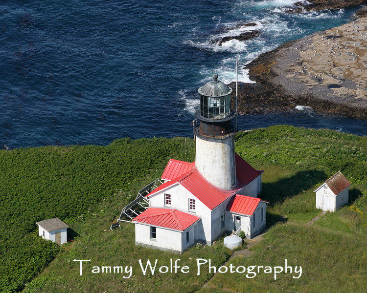 Cape Flattery Lighthouse (Aerial View) in 2006