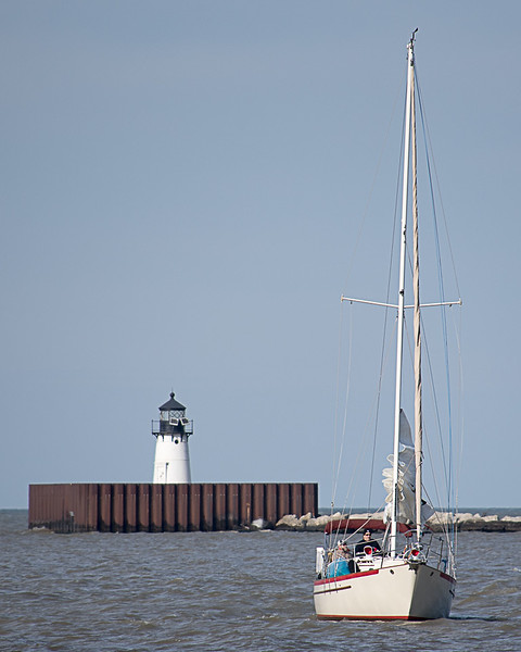 Lighthouse and the Sailor