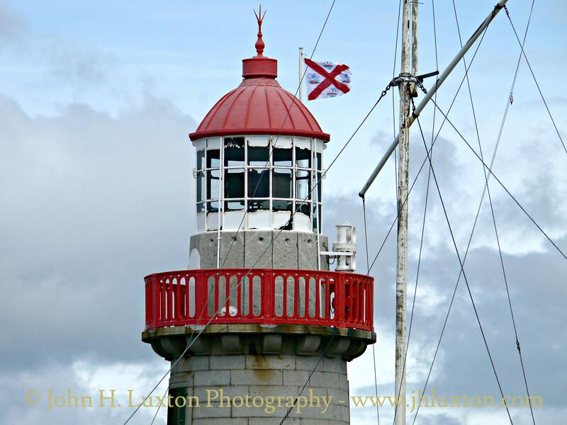 Dun Laoghaire East Pier Lighthouse, Ireland - June 23, 2007
