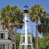 Cape San Blas Lighthouse: Four lighthouses have marked the southern part of Florida's Cape San Blas. The cape protrudes from the southernmost point of Florida's Panhandle and resembles an L-shaped arm, similar to Massachusetts' Cape Cod.