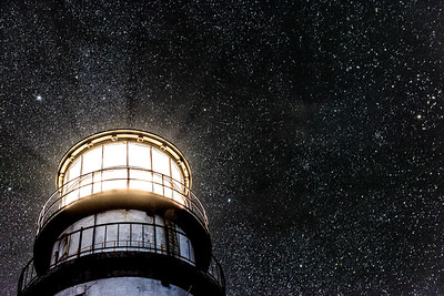 """The Stars and Highland Lighthouse"""
