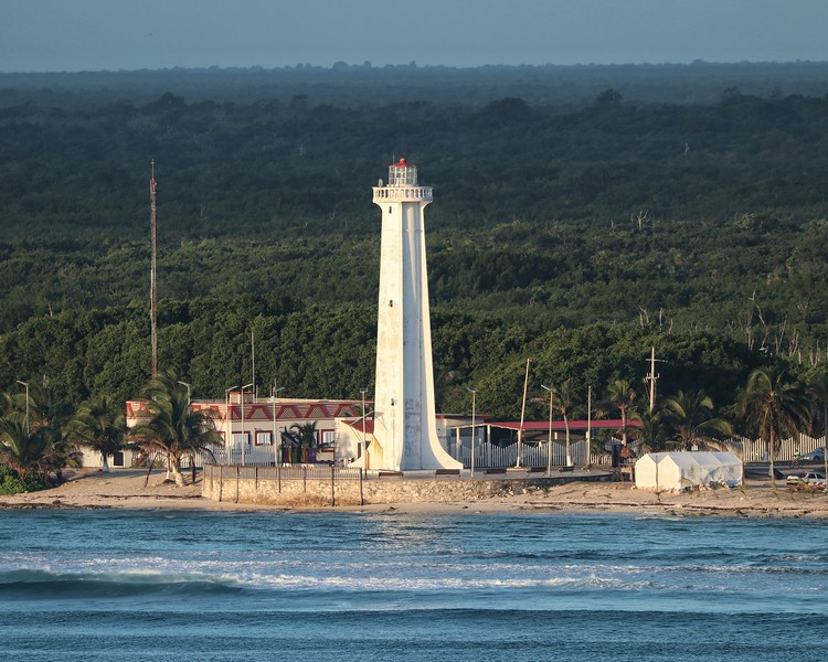 Mahahaul Lighthouse-Costa Maya, Mexico