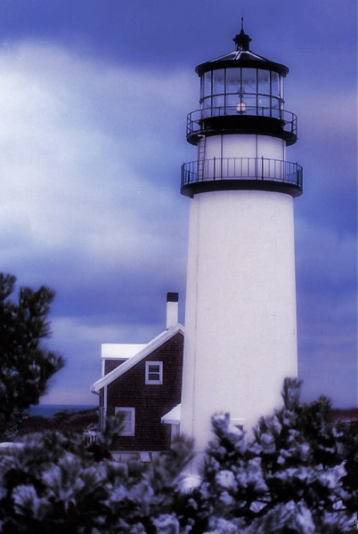 Highland Lighthouse Winter