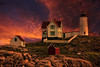 Sunset at Nubble Lighthouse