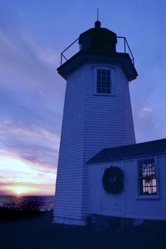 Wing's Neck Lighthouse Cape Cod