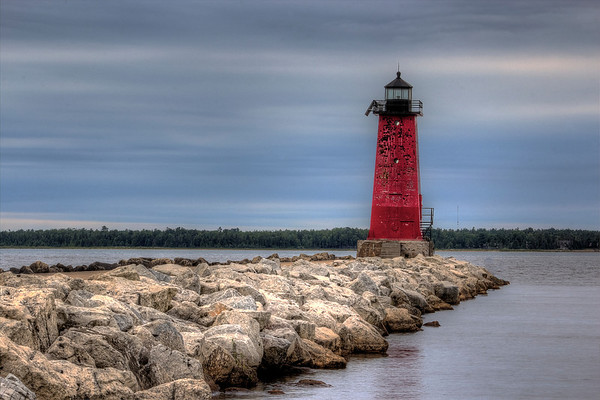 Manistique Pier and Lighthouse