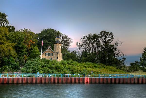 White River Evening