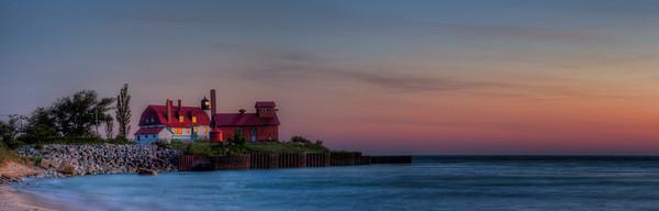 Point Betsie Lighthouse Summer Evening