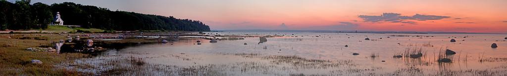 Old Mission Peninsula Dusk Panorama