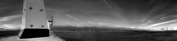 Ludington Lighthouse (Panorama)