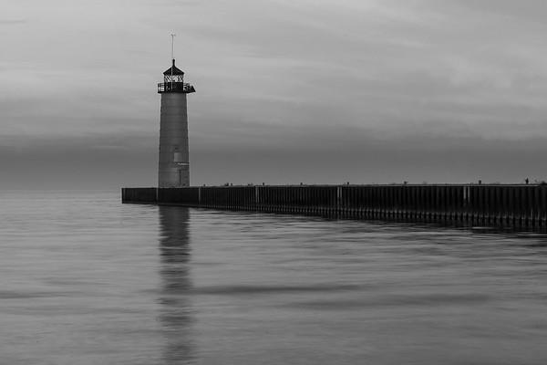 The Kenosha Pierhead Lighthouse