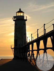 Lake Michigan Sunset #3