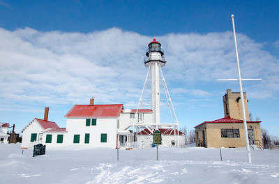 Whitefish Point Lighthouse and Coast Guard Station