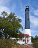 The Pensacola Lighthouse is located within the Pensacola Naval Air Station.