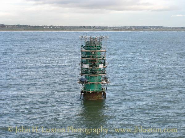 North Bull Lighthouse, Dublin Port, Eire - October  28, 2005