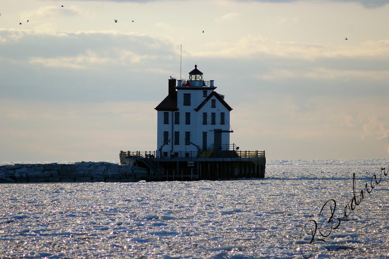 Photo By Robert Bodnar......................Lorain lighthouse