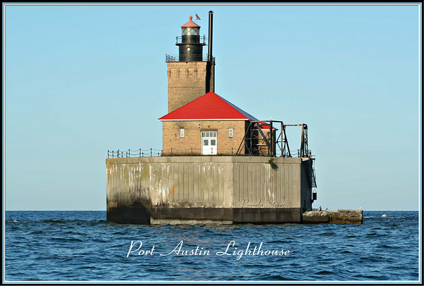 Port Austin Lighthouse<br /> Port Austin-Michigan<br /> © Pamela Stover<br /> Exposed Images Photography