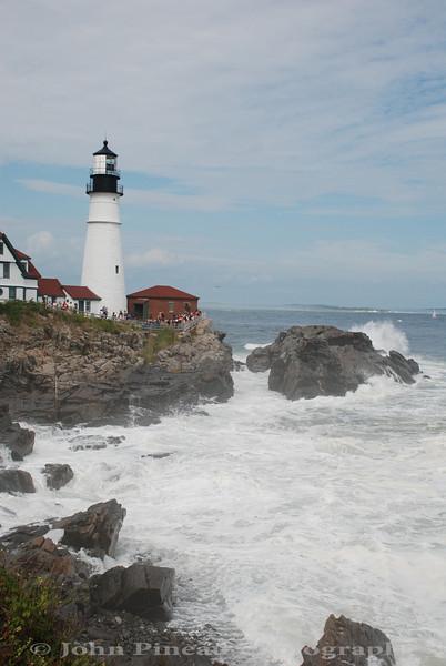 Portland Head Light - Cape Elizabeth, Maine<br /> 20090823-DSC_8257
