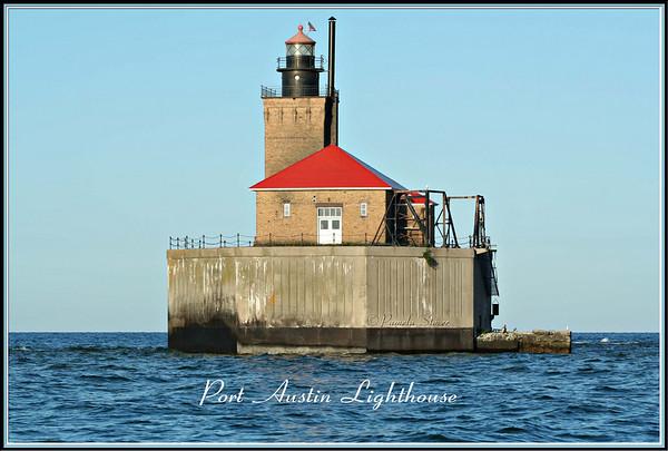 Port Austin Lighthouse<br /> Port Austin-Michigan<br /> © Pamela Stover<br /> Exposed Images Photography