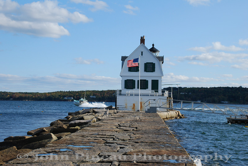 Rockland Breakwater Light - Rockland, Maine<br /> LH_0075-DSC_4627