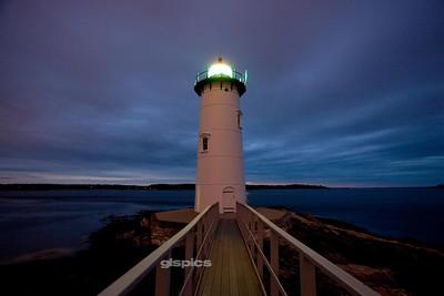 Portsmouth Lighthouse Sunrise 2