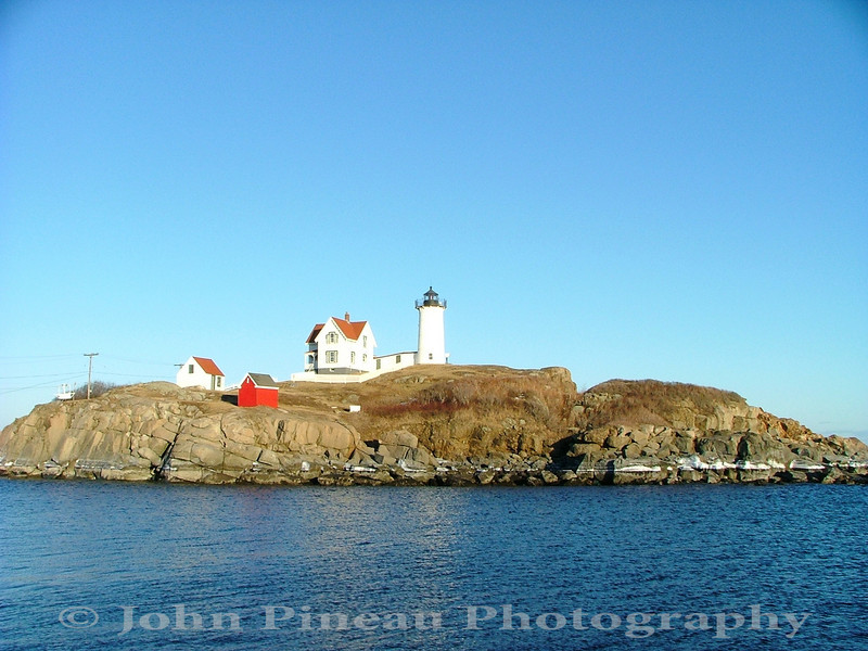 Nubble Light - York, Maine<br /> LH_0031-NubbleLight2