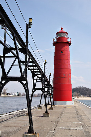 Grand Haven Lighthouse , MI