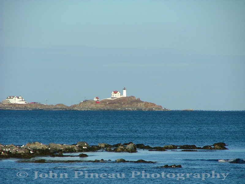 Nubble Light - York, Maine<br /> LH_0030-NumbleLight1