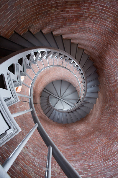 Portsmouth Lighthouse Staircase