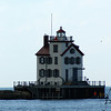 Sunsets with Lighthouses  (Lorain Harbor) : Sunsets with Lighthouse on Lake Erie, in Lorain Ohio
