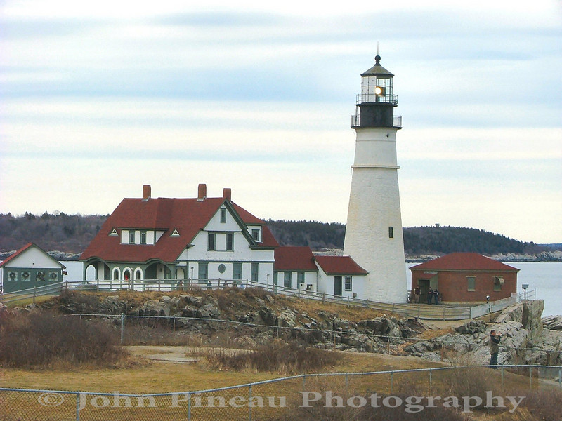 Portland Head Light - Cape Elizabeth, Maine<br /> LH_0009-PortlandHeadlight13