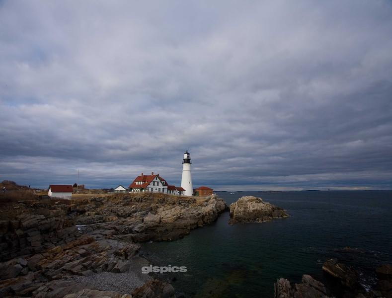 A View of Portland Head Lighthouse