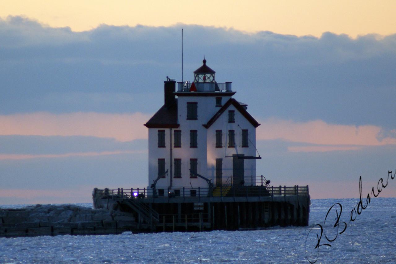 Photo By Robert Bodnar....................Lorain Lighthouse