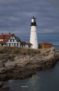 Portland Head Lighthouse Portrait