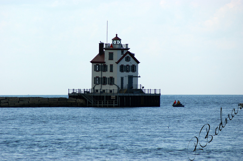 Photo By Robert Bodnar............................Lorain Lighthouse