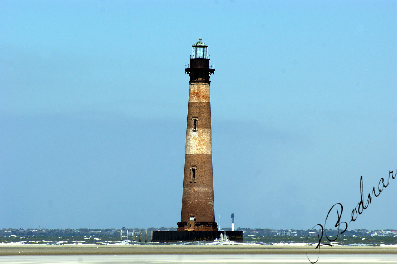 Photo By Robert Bodnar.............................................Morris Island Lighthouse