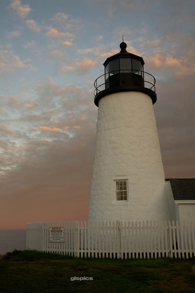 Sunset at Pemaquid