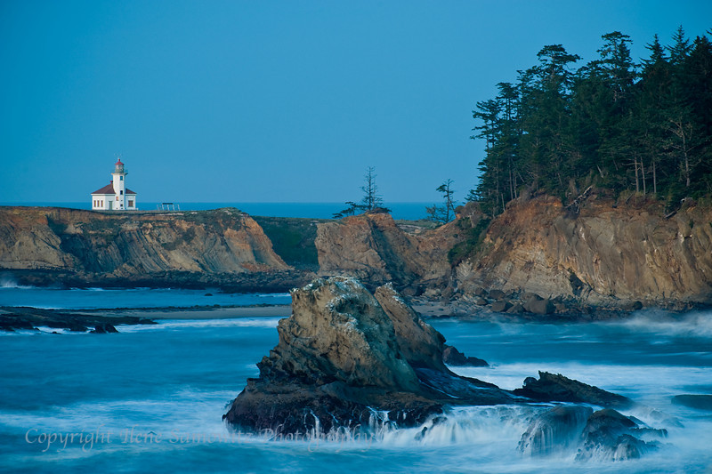 Cape Arago Lighthouse, Charleston, Oregon