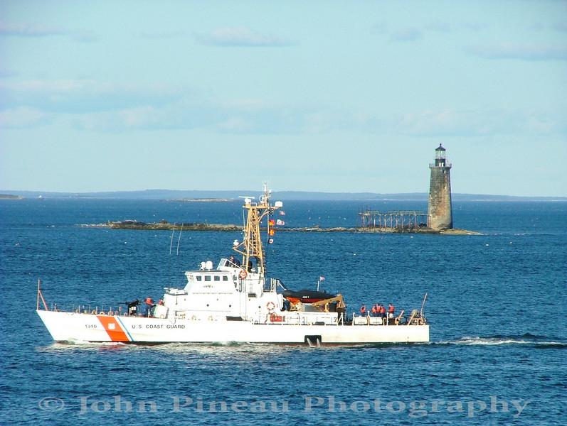 Ram Island Ledge Light - Cape Elizabeth, Maine<br /> LH_0072-DSCF4565