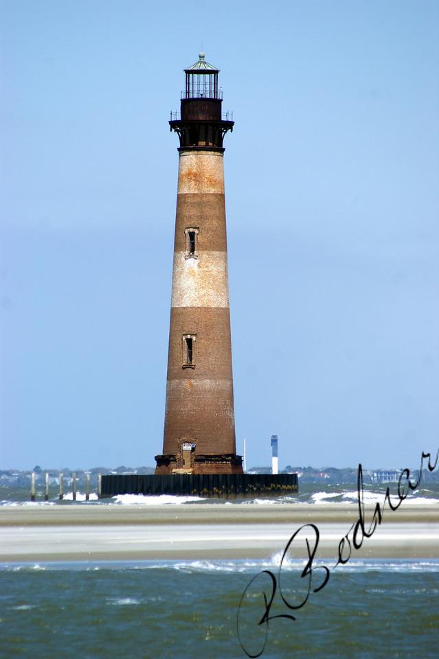 Photo By Robert Bodnar.........................................Morris Island Lighthouse