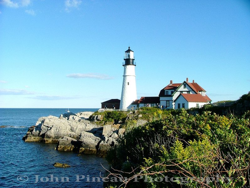 Portland Head Light - Cape Elizabeth, Maine<br /> LH_0016-28_lh