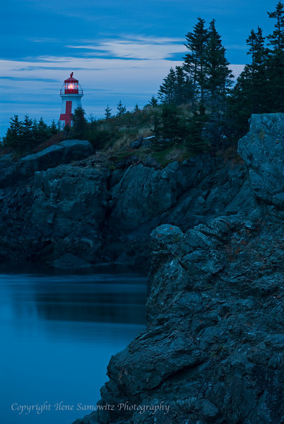 East Quoddy Head Lighthouse, New Brunswick, Canada
