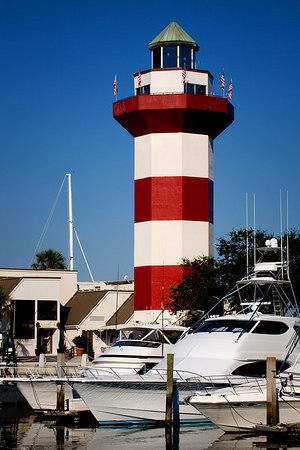 Harbour Town Lighthouse - Hilton Head Island - South Carolina